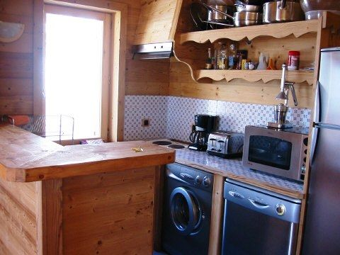 Cuisine américaine Location Appartement 27866 Alpe d'Huez