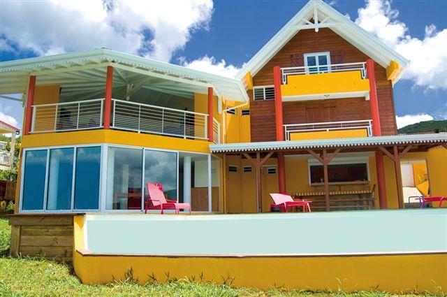 Vue extérieure de la location Location Villa 27882 Pointe Noire