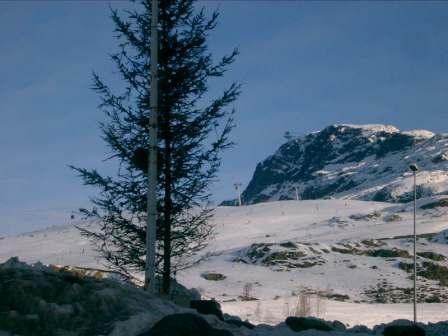 Vue depuis la location Location Appartement 28097 Alpe d'Huez