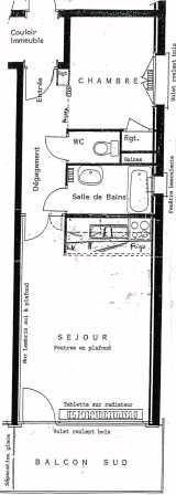 Plan de la location Location Appartement 28097 Alpe d'Huez