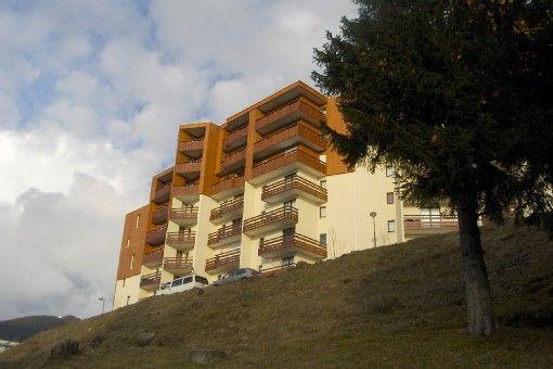 Vue extérieure de la location Location Appartement 2813 Les Sept Laux