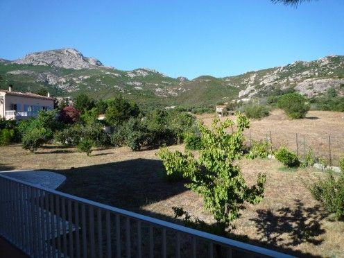 Vue de la terrasse Location Villa 28209 Calvi