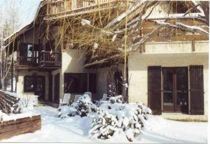 Vue extérieure de la location Location Appartement 2861 Serre Chevalier
