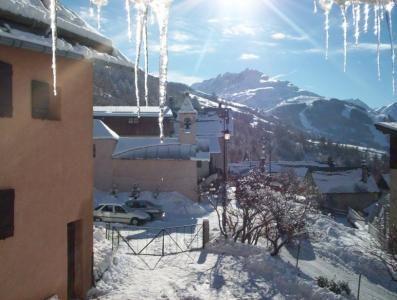 Vue du balcon Location Chalet 29257 Valloire