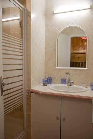 salle de bain Location Studio 29375 Risoul 1850