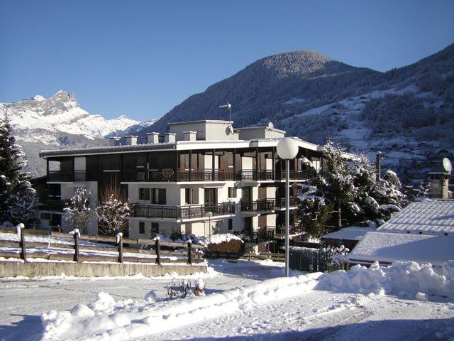 Vue extérieure de la location Location Appartement 29903 Saint Gervais Mont-Blanc