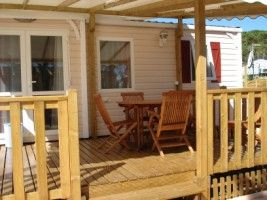 Terrasse Location Mobil-home 30322 Saint Tropez