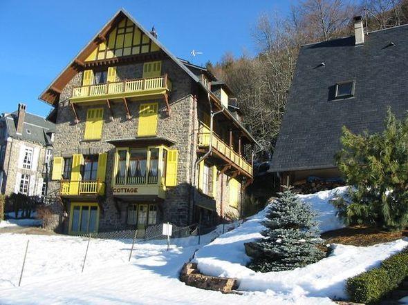 Vue extérieure de la location Location Appartement 30368 Le Mont Dore
