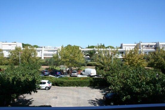 Vue du balcon Location Studio 31444 La Grande Motte