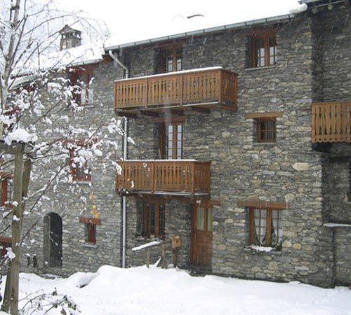 Vue extérieure de la location Location Appartement 3258 Val Cenis