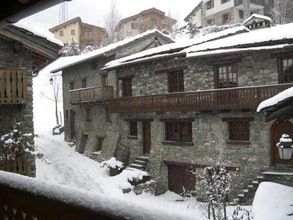 Vue du balcon Location Appartement 3258 Val Cenis