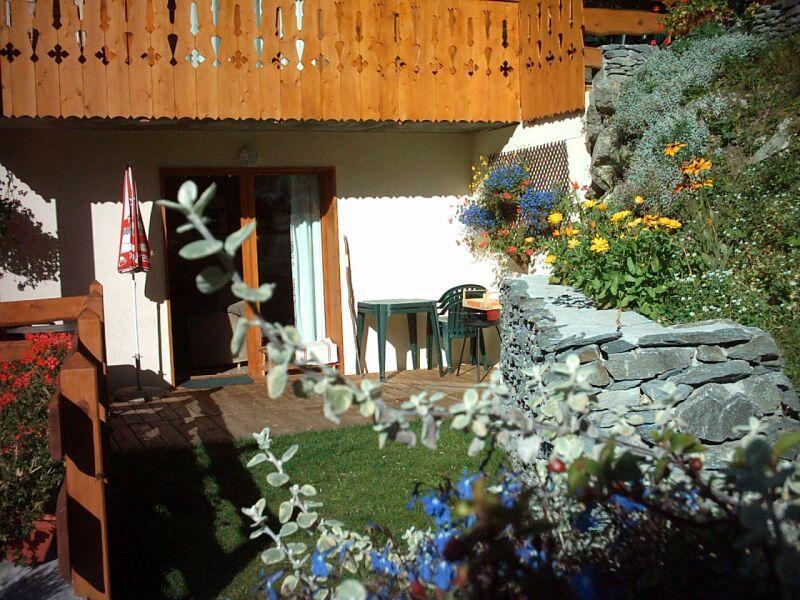 Jardin Location Chalet 3291 Valfréjus