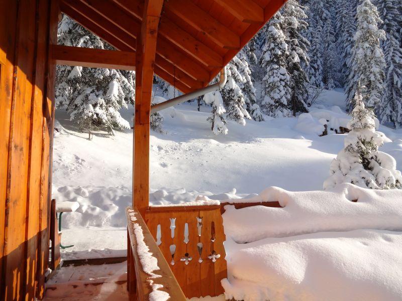Terrasse Location Chalet 3297 Valfréjus