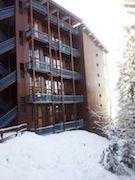 Vue extérieure de la location Location Appartement 330 Les Arcs