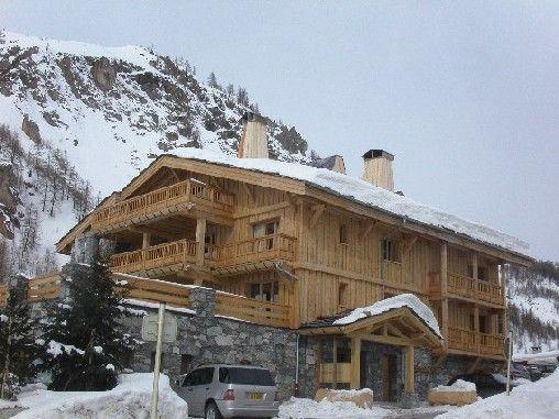 Vue extérieure de la location Location Appartement 3347 Val d'Isère