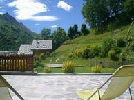 Vue de la terrasse Location Appartement 3395 Valloire