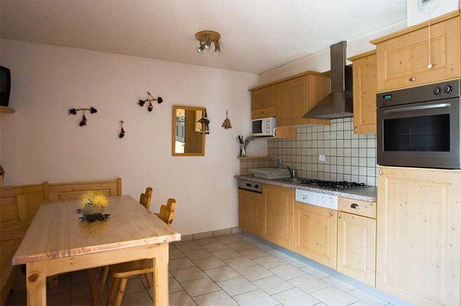 Coin cuisine Location Appartement 3395 Valloire