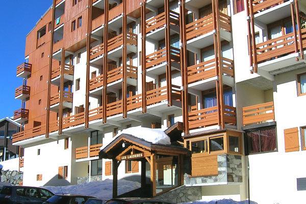 Vue extérieure de la location Location Appartement 3523 Val Thorens