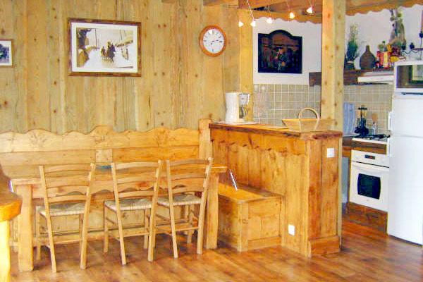 Salle à manger Location Appartement 35627 Chamrousse