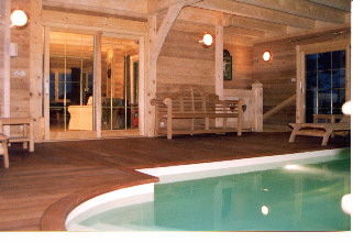 Piscine Location Chalet 3603 Vars
