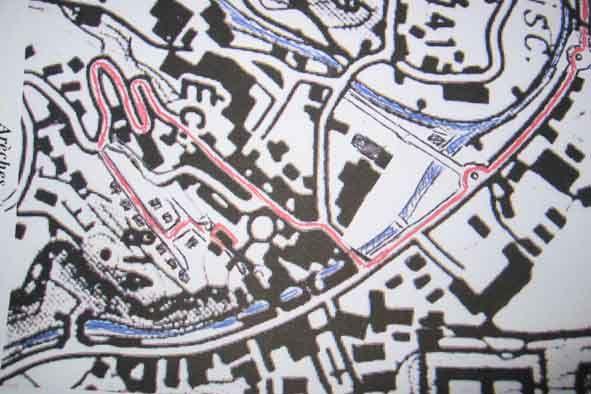 Carte Location Gite 367 Areches Beaufort