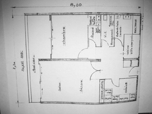 Plan de la location Location Appartement 3704 Villard de Lans - Corrençon en Vercors