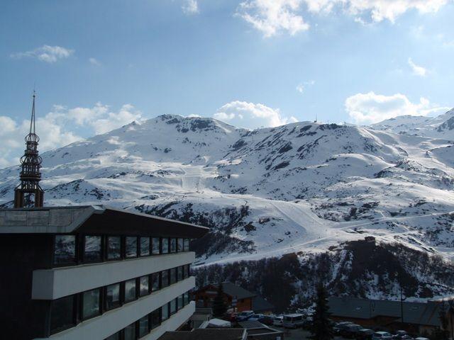 Vue du balcon Location Appartement 37394 Les Menuires