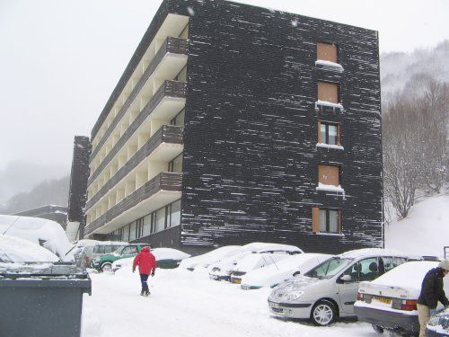 Vue extérieure de la location Location Appartement 3786 Besse - Super Besse