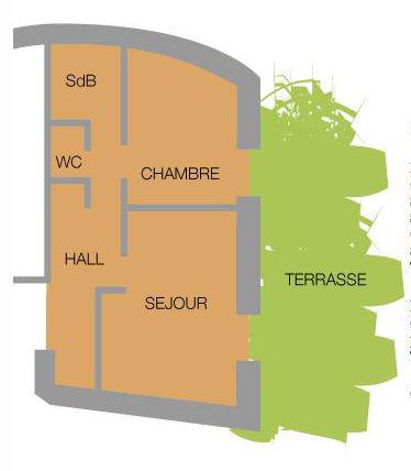 Plan de la location Location Appartement 38237 Valloire