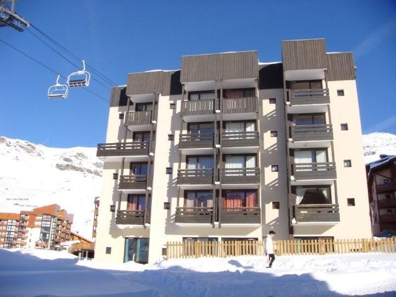 Vue extérieure de la location Location Appartement 38877 Val Thorens