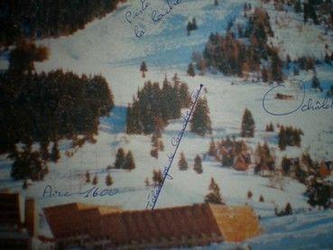 Plan de la location Location Appartement 38907 Les Arcs