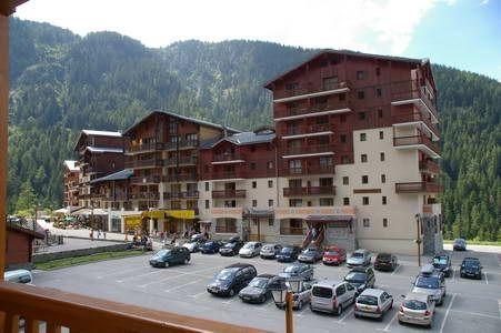 Vue du balcon Location Studio 39003 Valfréjus