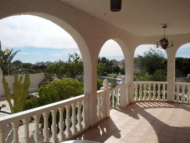 Vue de la terrasse Location Villa 39657 Torrevieja