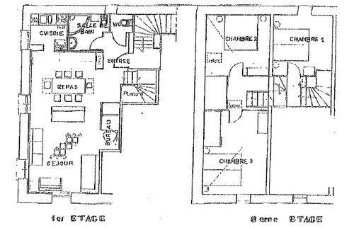 Plan de la location Location Appartement 39675 Les Angles