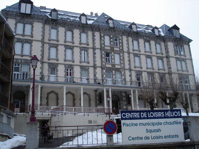 Vue extérieure de la location Location Appartement 3977 Barèges