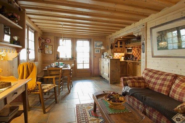 Séjour Location Appartement 40009 Combloux