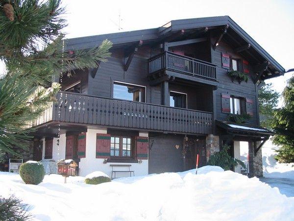Vue extérieure de la location Location Appartement 40009 Combloux