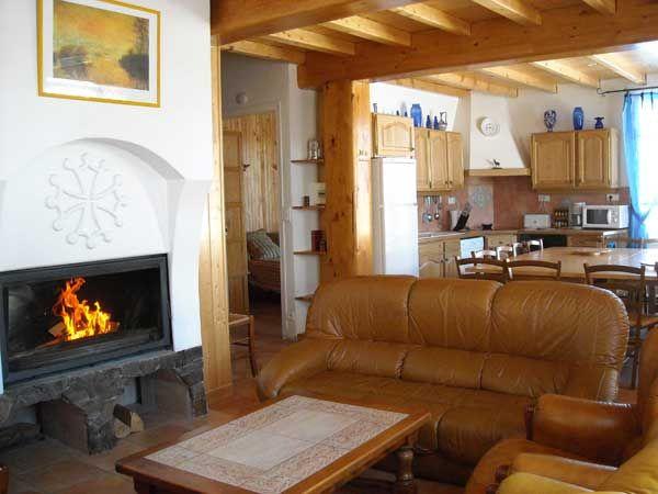 Salon 1 Location Maison 4013 Formiguères
