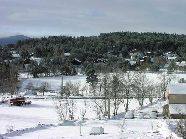 Vue depuis la location Location Maison 4013 Formiguères