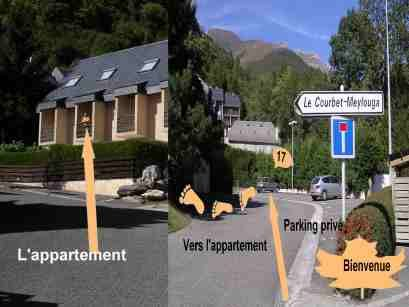 Carte Location Studio 4058 Cauterets