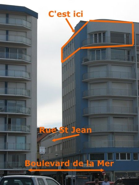 Vue extérieure de la location Location Appartement 40906 Le Touquet