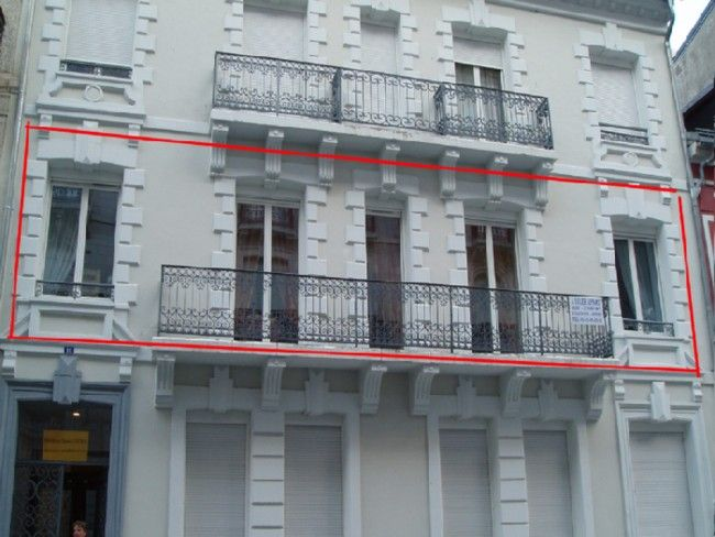 Vue extérieure de la location Location Appartement 4098 Cauterets