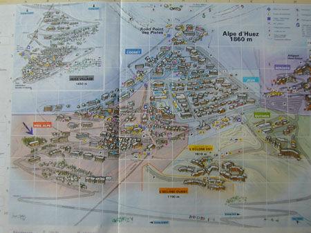 Plan de la location Location Appartement 42 Alpe d'Huez