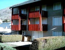 Vue ext�rieure de la location Location Appartement 4275 Luz Ardiden