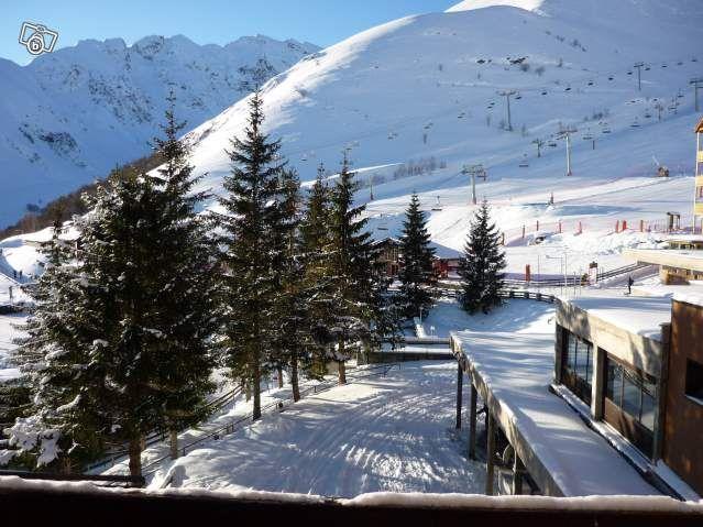 Vue du balcon Location Studio 4363 Peyragudes