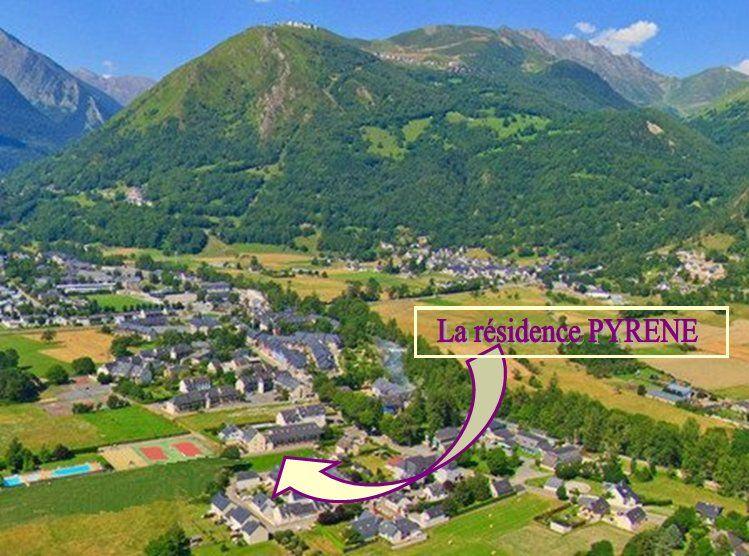 Carte Location Appartement 4397 Saint Lary Soulan
