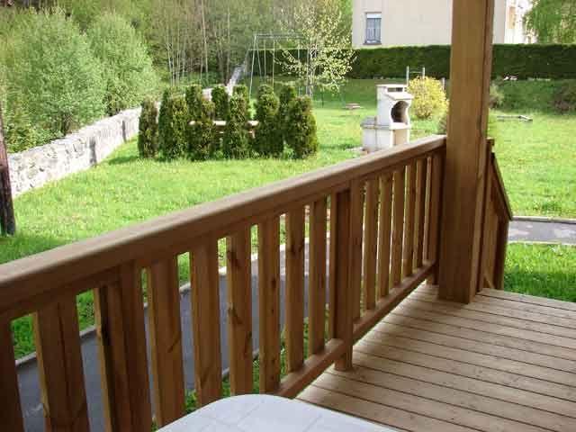 Vue de la terrasse Location Appartement 4526 La Bresse Hohneck