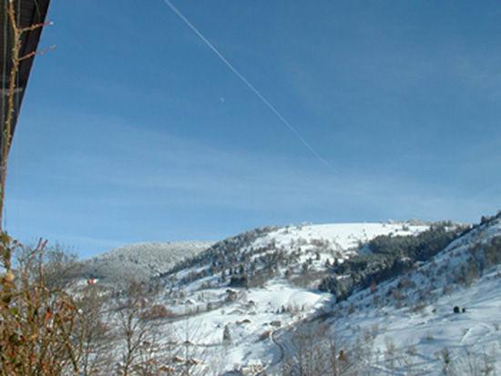 Vue depuis la location Location Gite 4549 La Bresse Hohneck