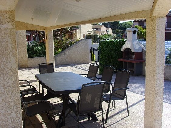 Terrasse Location Bungalow 46464 Cap d'Agde