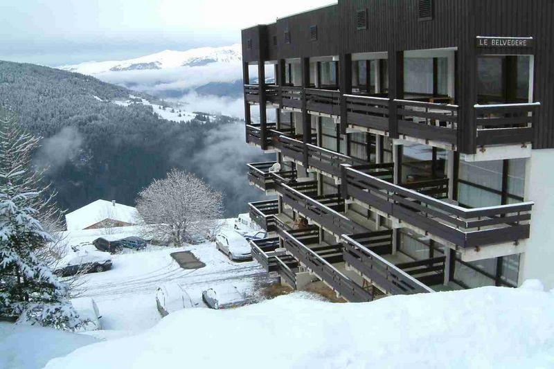 Vue extérieure de la location Location Appartement 4750 Peisey-Vallandry